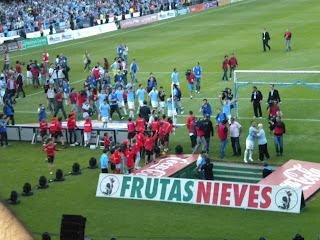 Celta-Córdoba, Balaídos, 3 de junio de 2012, Celebración ascenso