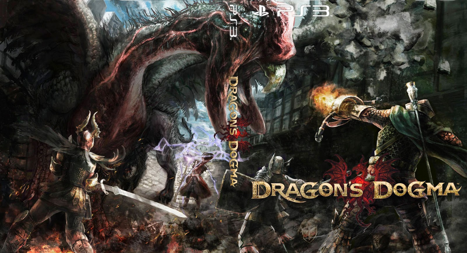 Capa Dragons Dogma PS3