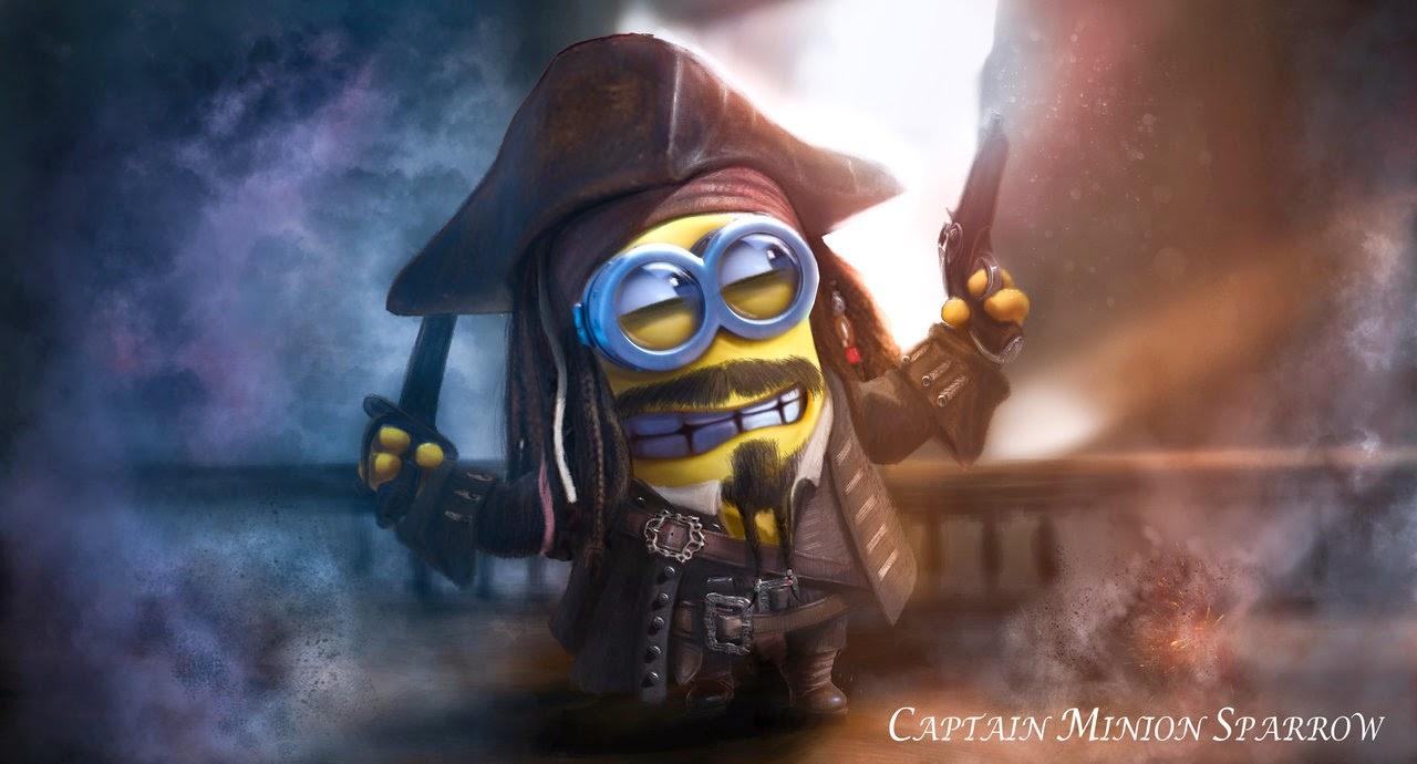 minion Capitão Sparrow