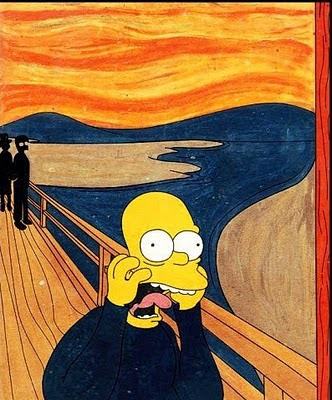  Simpson Munch Scream 