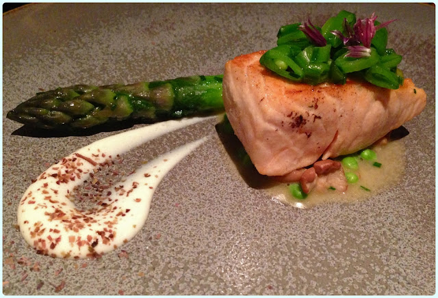 The Ledbury, London - Salmon