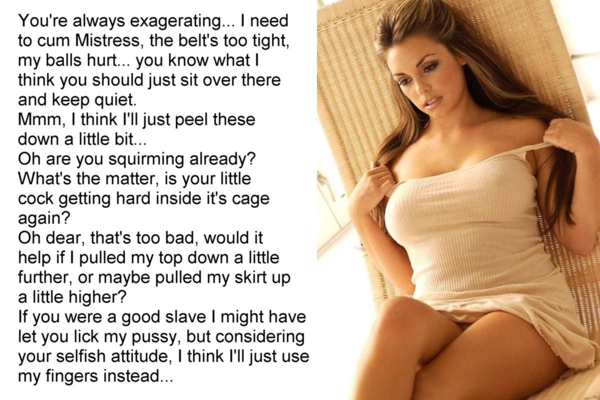 Pussy Worship Captions Top mirror blog for www.chastity-femdom.blogspot: chastity/femdom