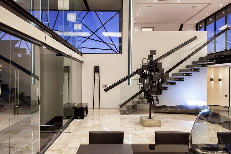Casa ber dise o ultra moderno nico van der meulen Estilos de arquitectura contemporanea