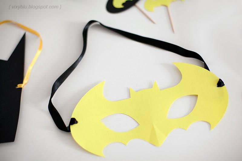 masca batgirl, petreceri personalizate