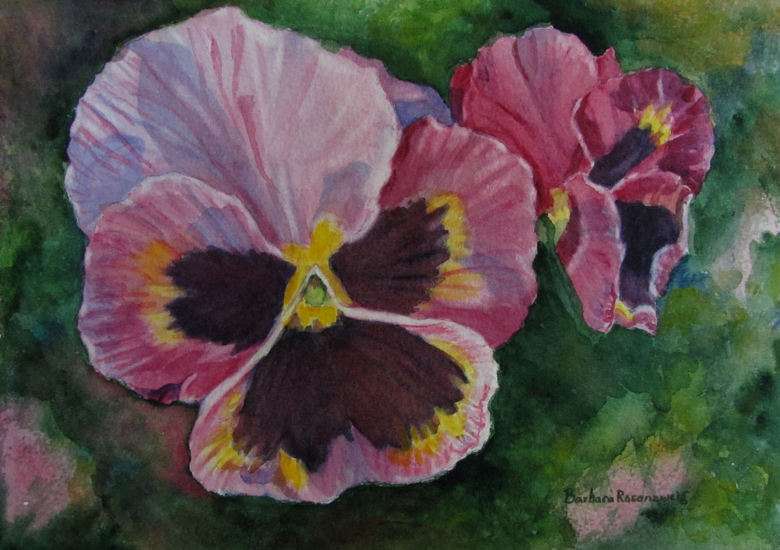 BLUE PURPLE FLOWERS SPRING THE BEAUTIFUL PANSY BEAUTIFULLY INTERPRETED