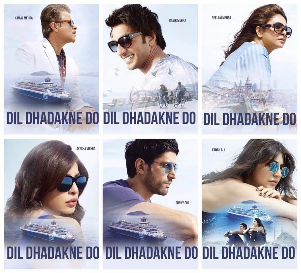 First Look Posters of Dil Dhadakne Do Star Cast Team