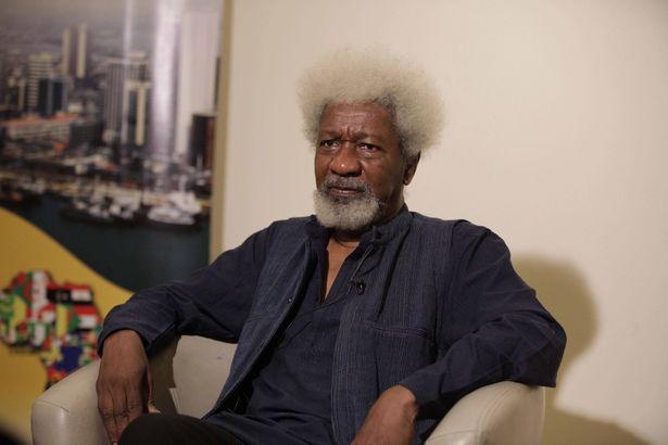 Wole Soyinka speaks on Boko Haram and dismiss peace negotiations with the islamist group saying Nigeria is at war @osaseye.blogspot.com