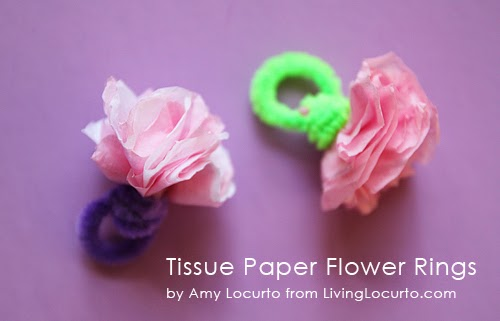 http://www.livinglocurto.com/2012/08/paper-flower-ring-craft/