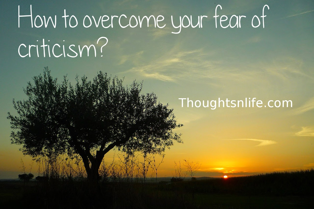 Thoughtsnlife.com: Would you like to overcome your fear of criticism? Even more, to be able to talk back when criticized, in a cool, non-defensive way? This ability would have a tremendous impact on your self-perception.  Criticism may be right or wrong, or somewhere in between, but one way to find out clearly is to ask the critic questions. Be specific, even if what was said was harsh and personal. This will reveal either the truth in what has been said, giving you the opportunity to rectify your behavior, or that the person is talking out of anger, in which case you will know that the criticism was an expression of their own frustration rather than a real criticism of you. Either way, there is no need for a negative emotional reaction on your part. You are left in the position where you can either use the criticism or dismiss it and get on with things. You also defuse the wrath of the critic.