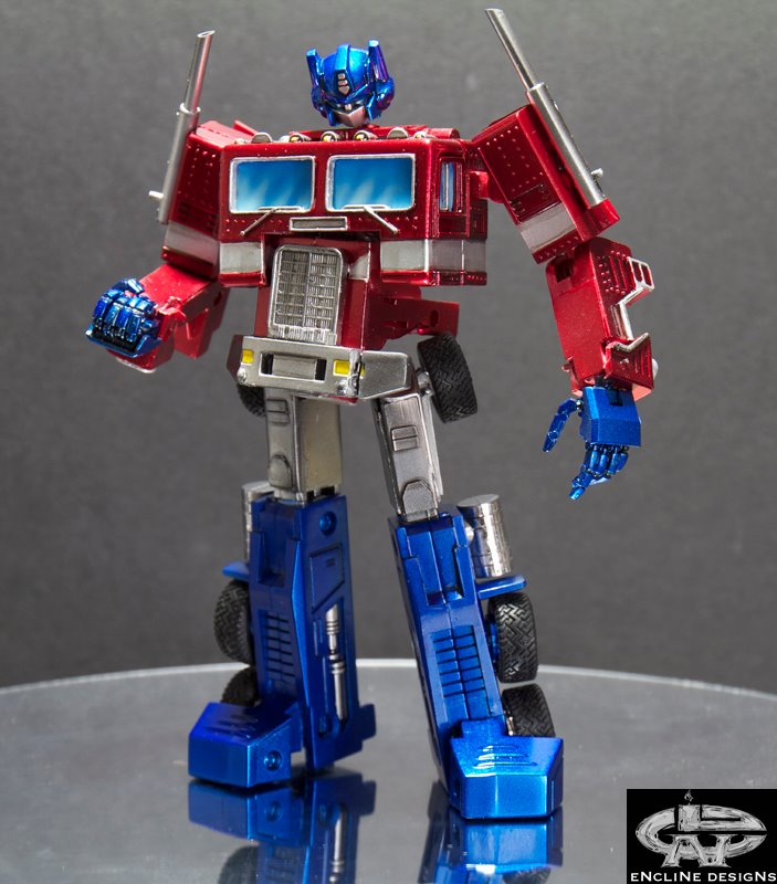 Transformers custom world encline designs g1 optimus prime - Optimus prime dessin ...