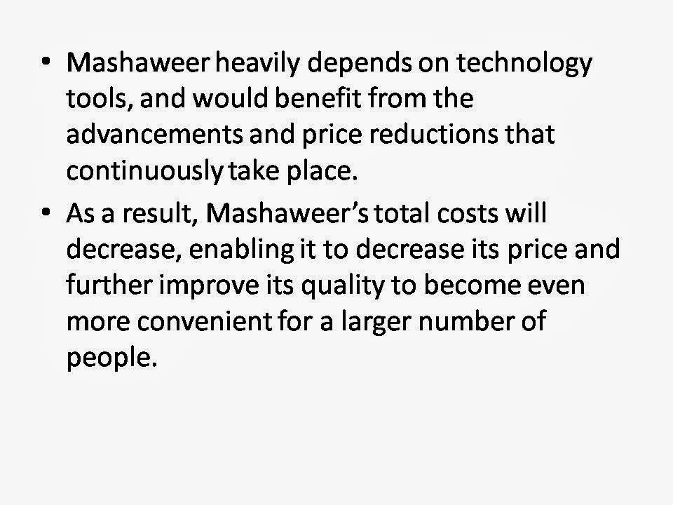 """study case mashaweer Mashaweer, which operates 24 hours a day, 7 days a week, is the first startup in egypt dedicated to saving you time and wasted effort on everyday routine tasks in this case, we often count on employees we've previously had contact with in order to get required procedures done,"""" al-shizli adds."""