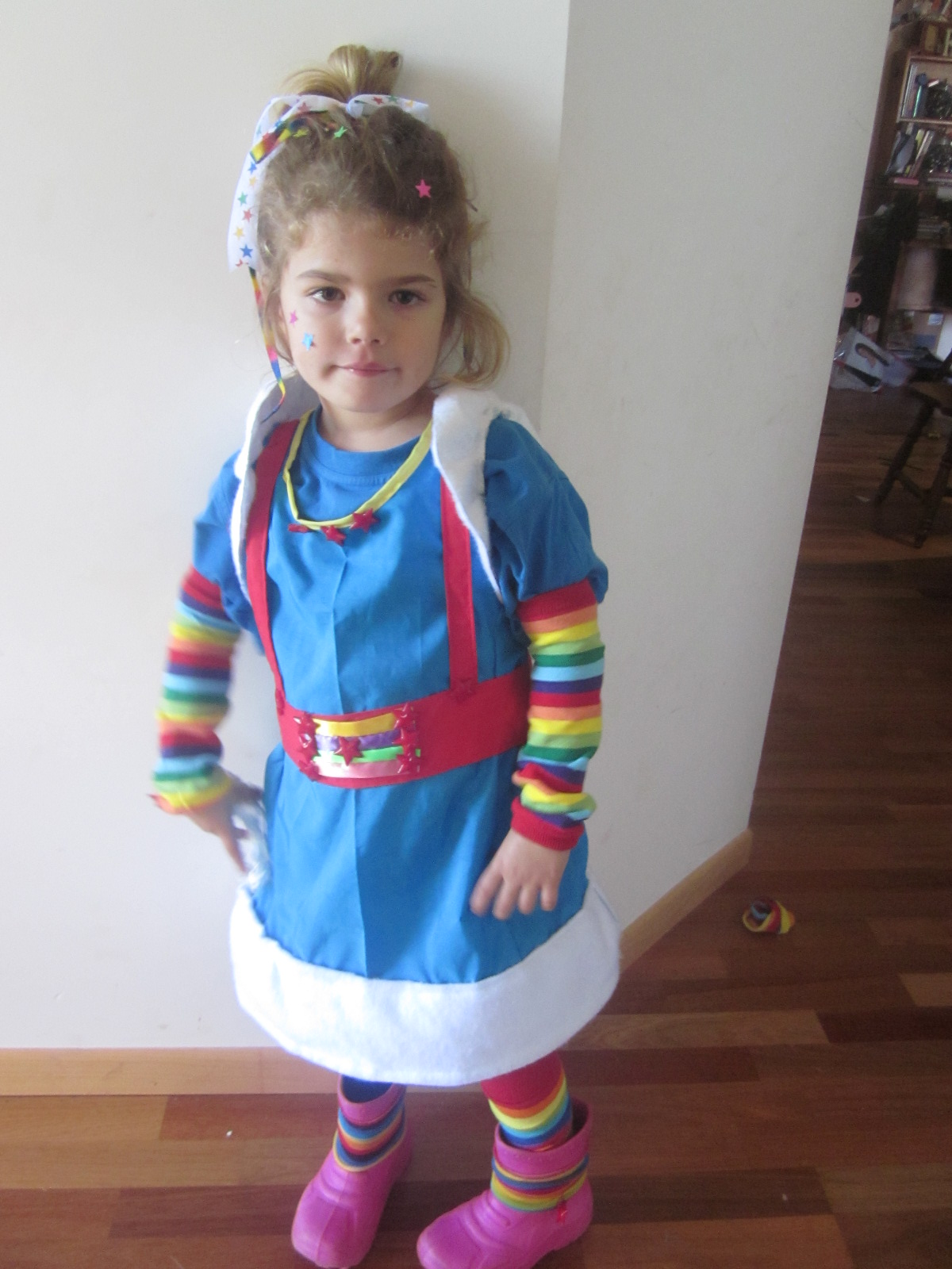 Miss 5 wasnt feeling well but doesnt she make a great Rainbow Brite?  sc 1 st  My Friends Call me Nelly & My Friends Call me Nelly: Book Week Dress Ups 2011