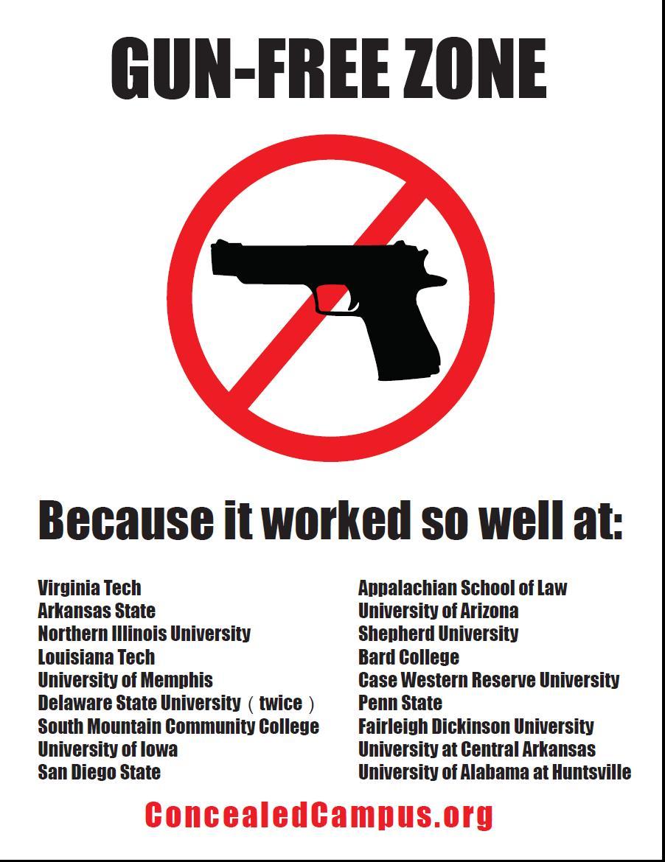 "Funny Gun Control Signs Gun-control advocates."""