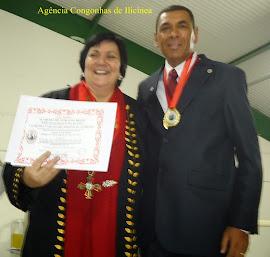 Acadêmico  de Ilicinea recebe Homenagens na ANELCA e ALB RMBH