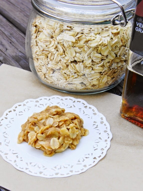 Vermont Maple No-Bake Cookies