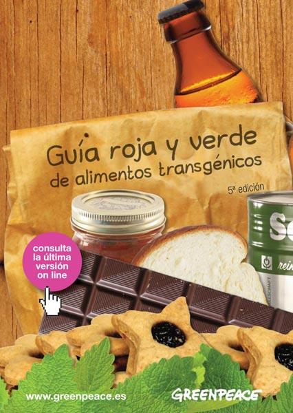 GUIA ROJA Y VERDE DE ALIMENTOS TRANSGÉNICOS (Última Edición)