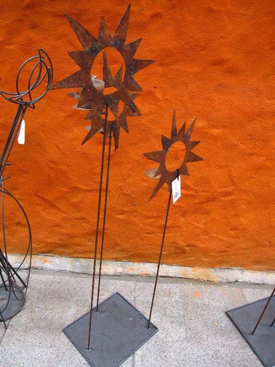 Martina fierro cosas de hierro soles x 3 - Portavelas de hierro ...