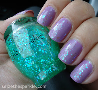 SinfulColors Tempest & Green Ocean
