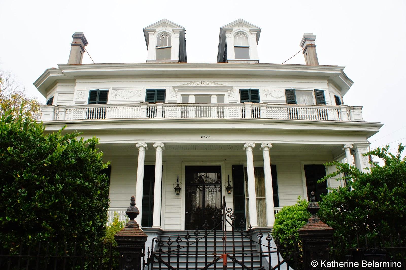 Benjamin Button House Garden District Walking Tour New Orleans & The Walking Tours of New Orleans | Travel the World pezcame.com