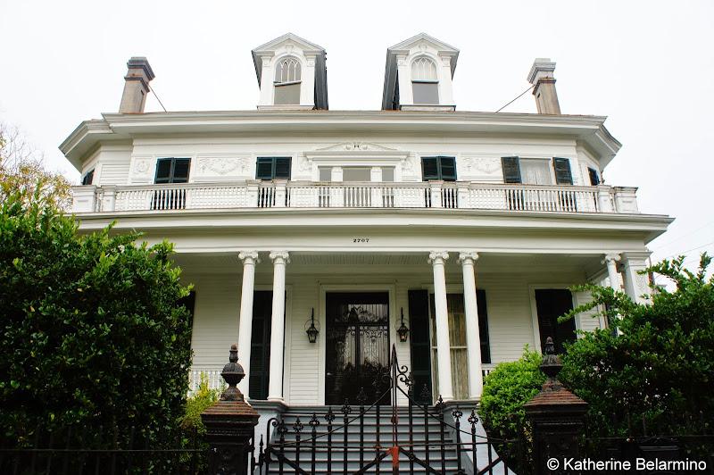 Benjamin Button House Garden District Walking Tour New Orleans