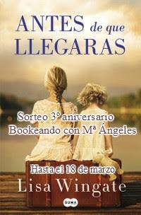 Sorteo Aniversario Bookeando con Mª Ángeles