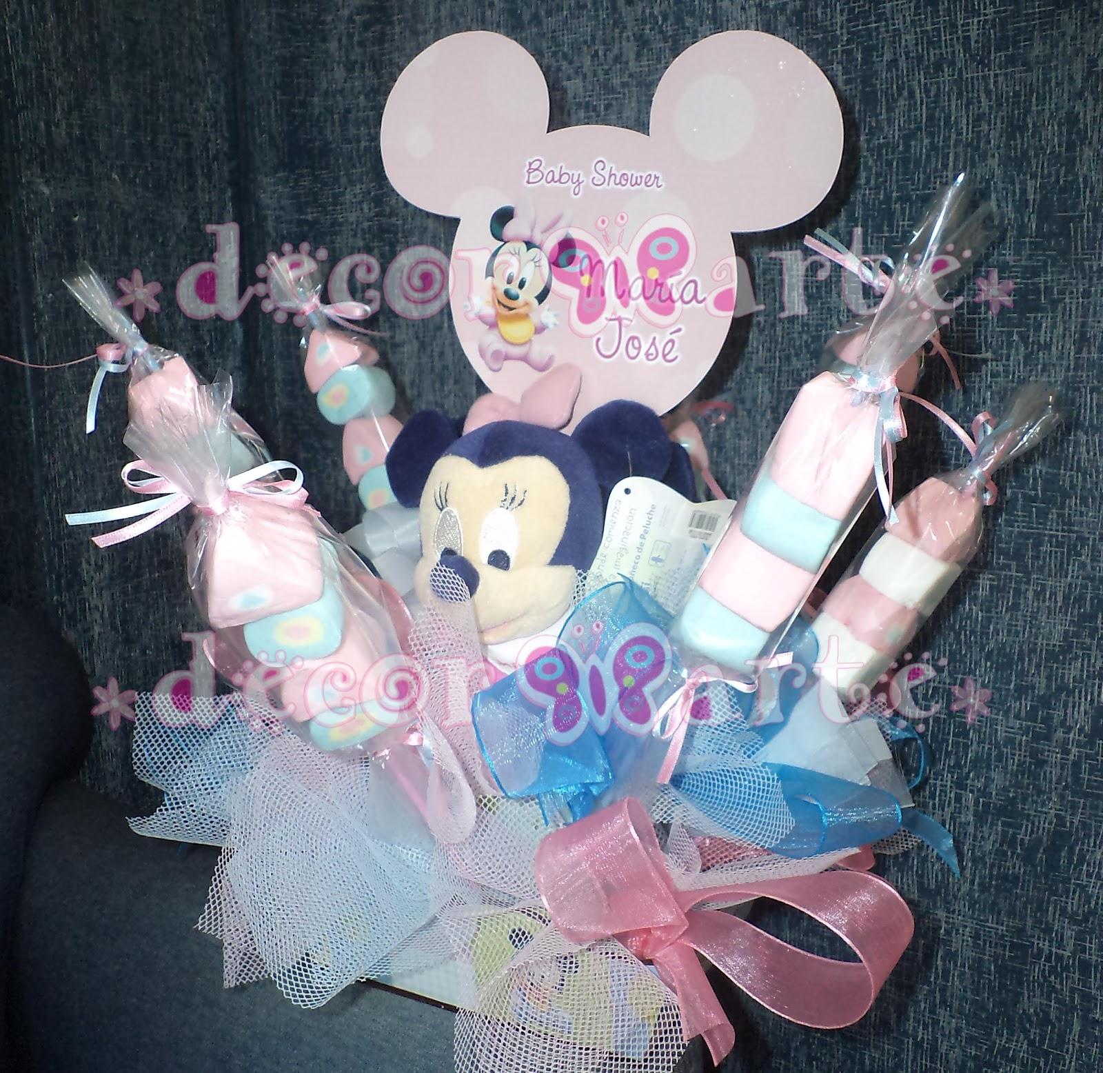 Decorarte Color dise±o y manualidades Centro de mesa Baby Mimi