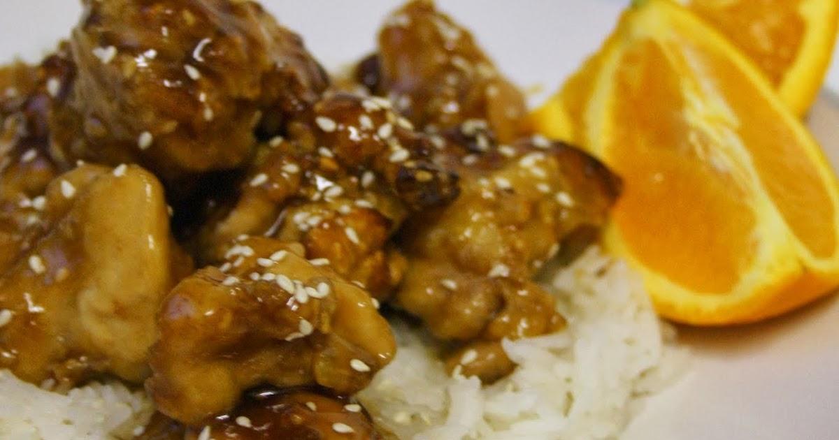 Anyonita Nibbles: ActiFry Gluten-Free Sesame Orange Chicken Recipe