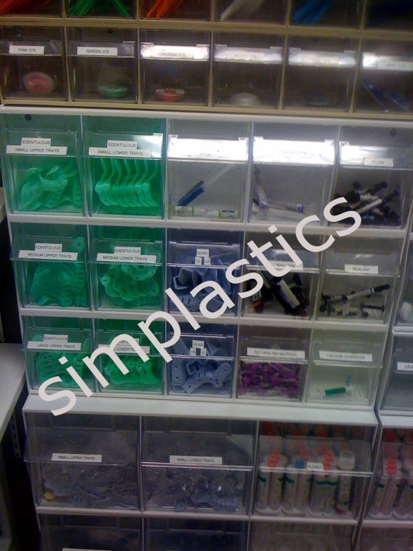Plastic Storage Bins Dental Bins Storage Solutions For