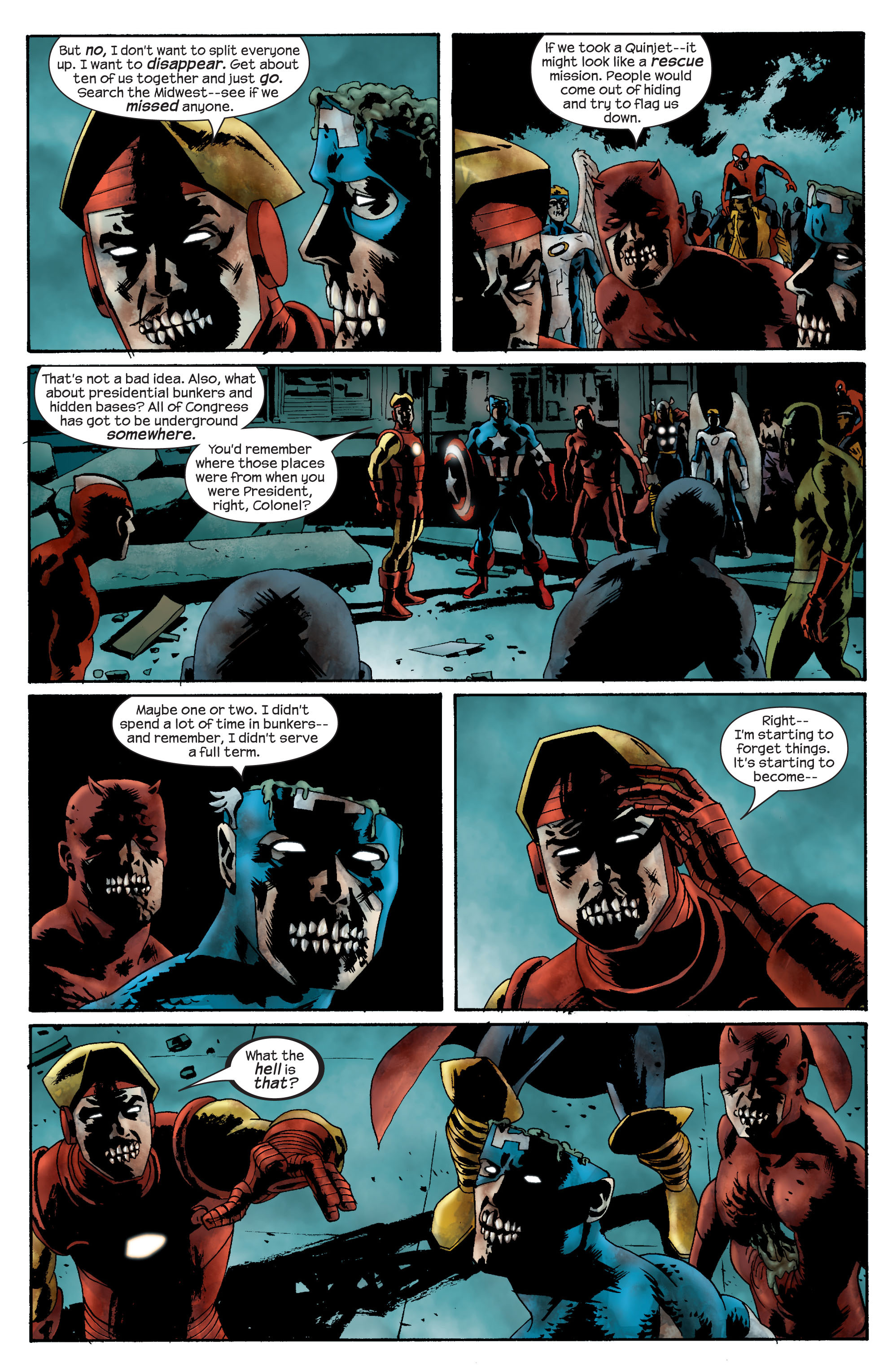 Marvel Zombies (2006) Issue #2 #2 - English 17