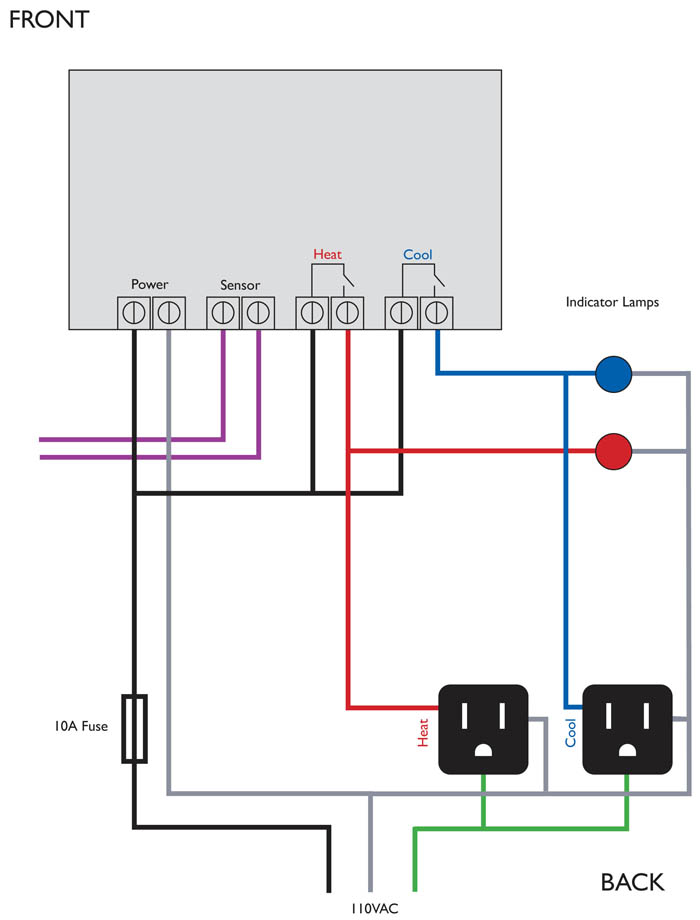 brew controller wiring diagram  schematic diagram
