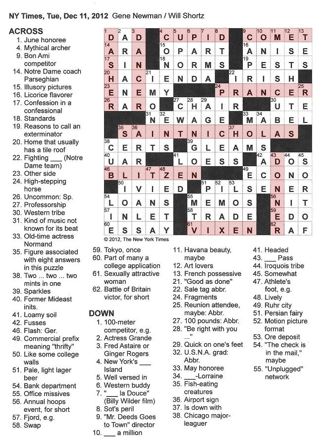 aib short essays crossword clue