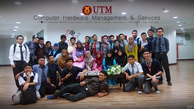 Computer Hardware Management & Services : Presentation Day, UTM SPACE