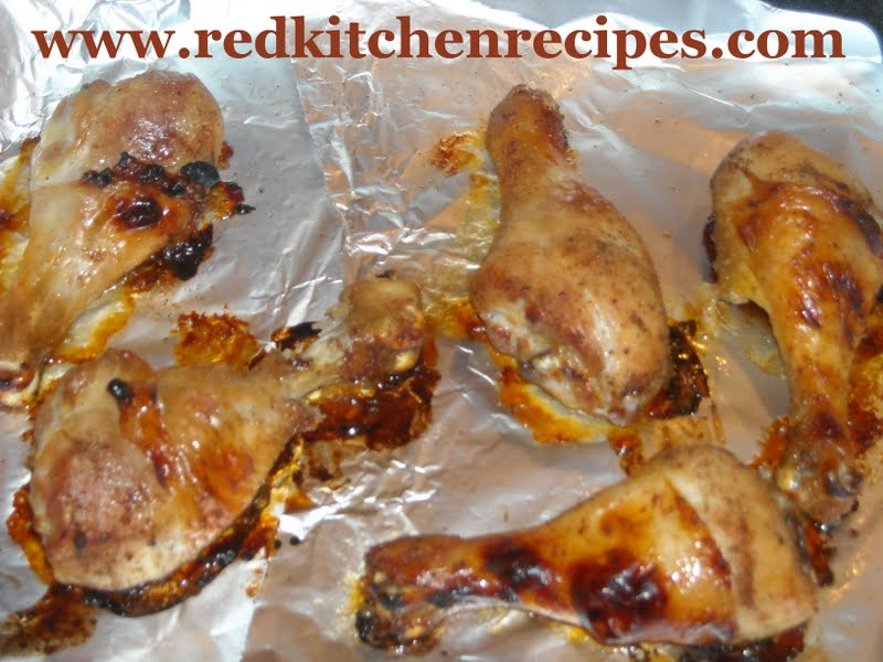 Red kitchen recipes convection roasted chicken legs convection roasted chicken legs forumfinder Choice Image