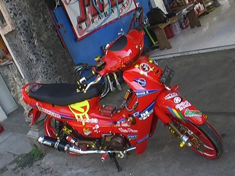 Modifikasi Honda Supra Fit 2003-Fashion