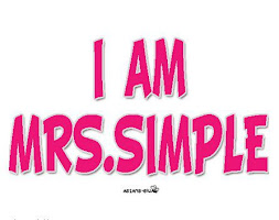 I Am Mrs. Simple