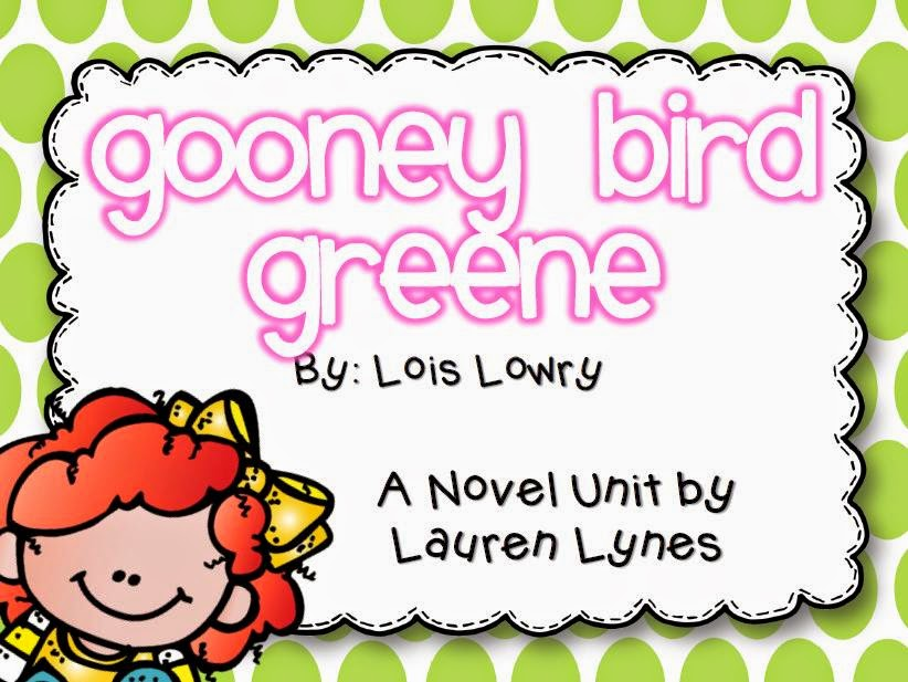 http://www.teacherspayteachers.com/Product/Gooney-Bird-Greene-A-Novel-Unit-1239868
