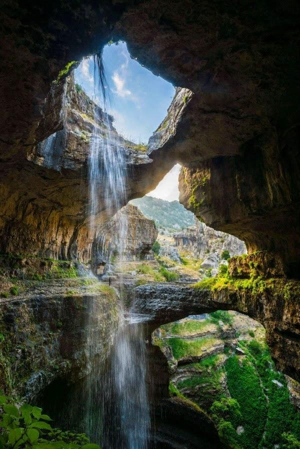 Baatara Falls - Gorge, Tannourine, Lebanon