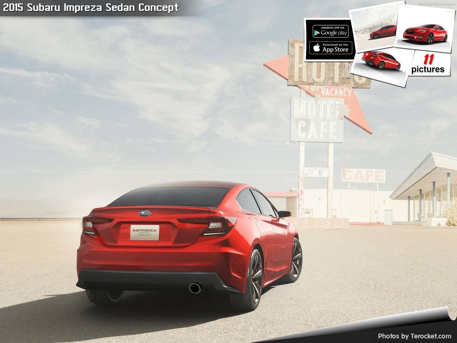 Hình ảnh xe ô tô Subaru Impreza Sedan Concept 2015 & nội ngoại thất