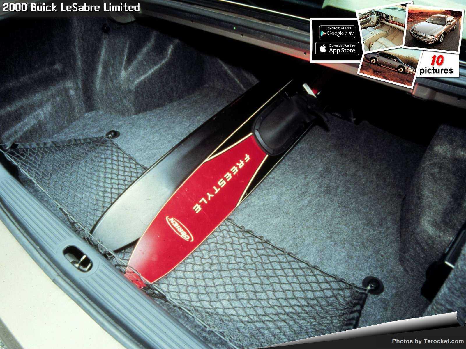 Hình ảnh xe ô tô Buick LeSabre Limited 2000 & nội ngoại thất