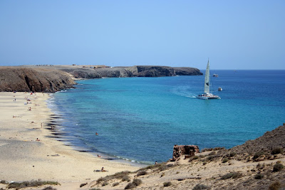 (Canary Islands) - Lanzarote - Playa Papagayo