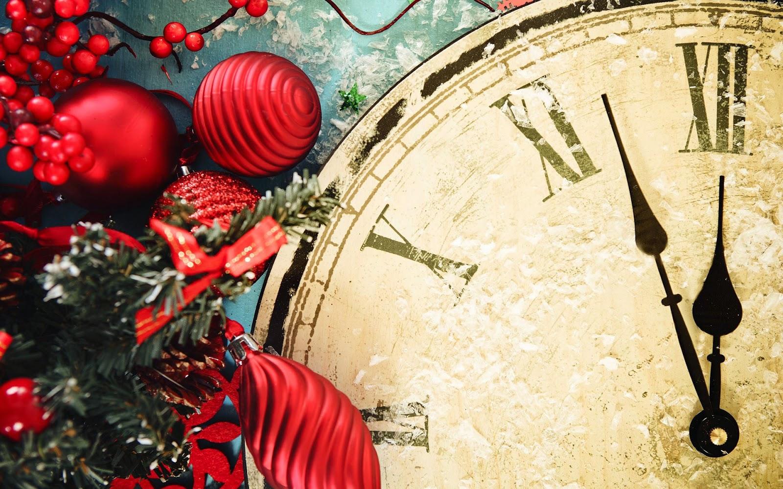 Foto paar minuten voor twaalf op de klok tot het nieuwe jaar het aftellen is begonnen - Jaar wallpapers ...