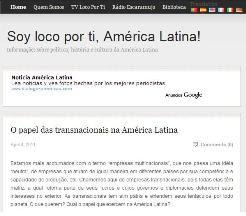 SOY LOCO POR TI, AMÉRICA LATINA