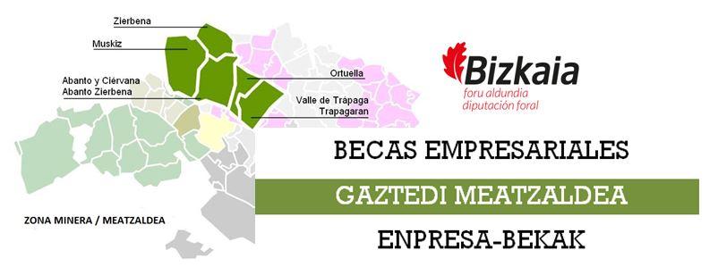 PRACTICAS EN EMPRESA: BECAS GAZTEDI MEATZALDEA 2017