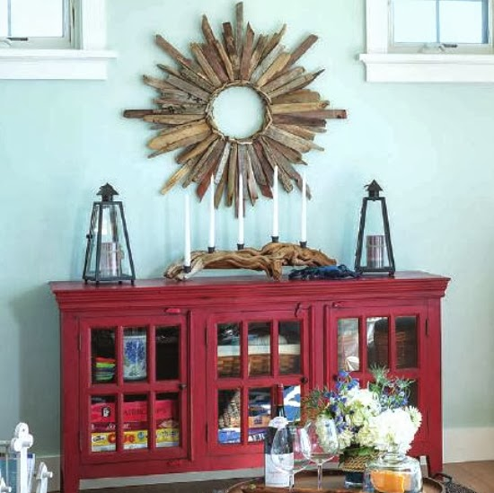 nautical decorations casual living room lots
