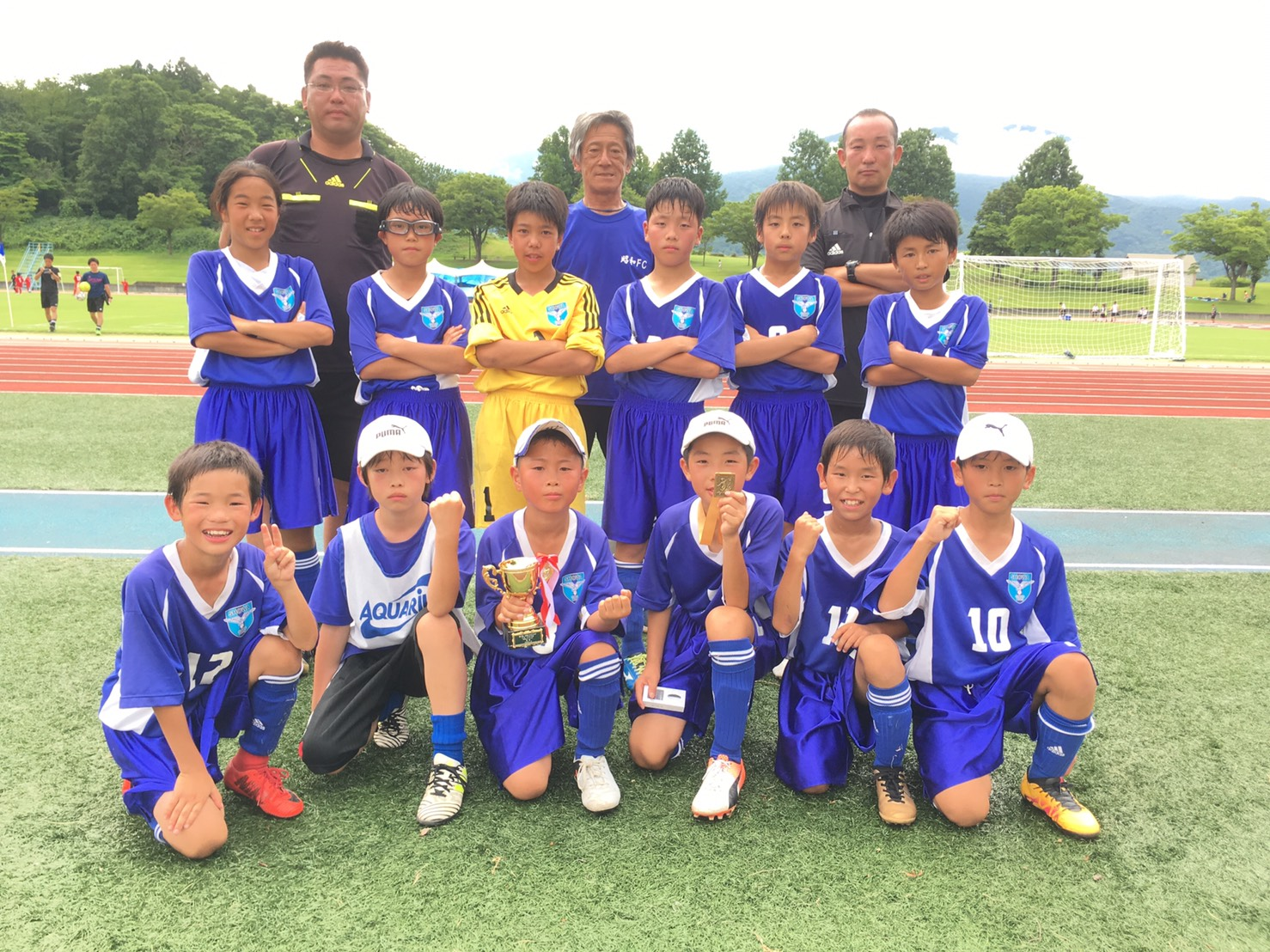 U12たなばたCUP 優勝!!