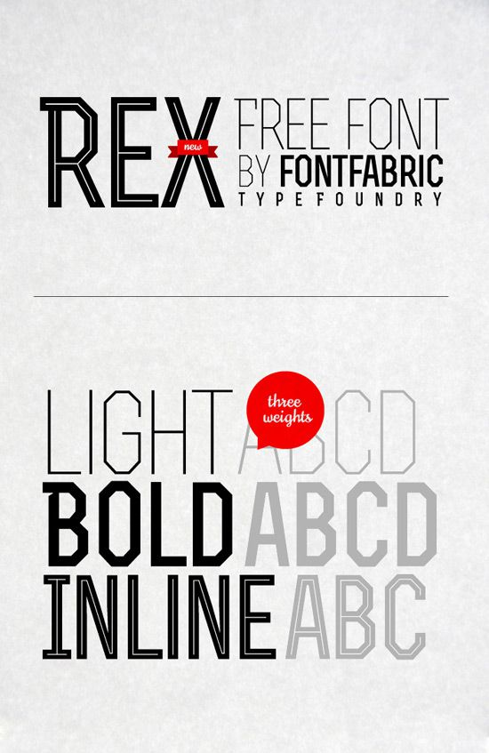 60 Gorgeous And Creative Fonts For Designer