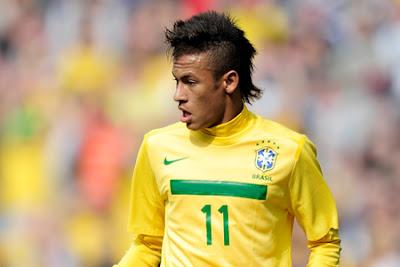 Neymar eleito o melhor jogador brasileiro em 2012 pelos blogs