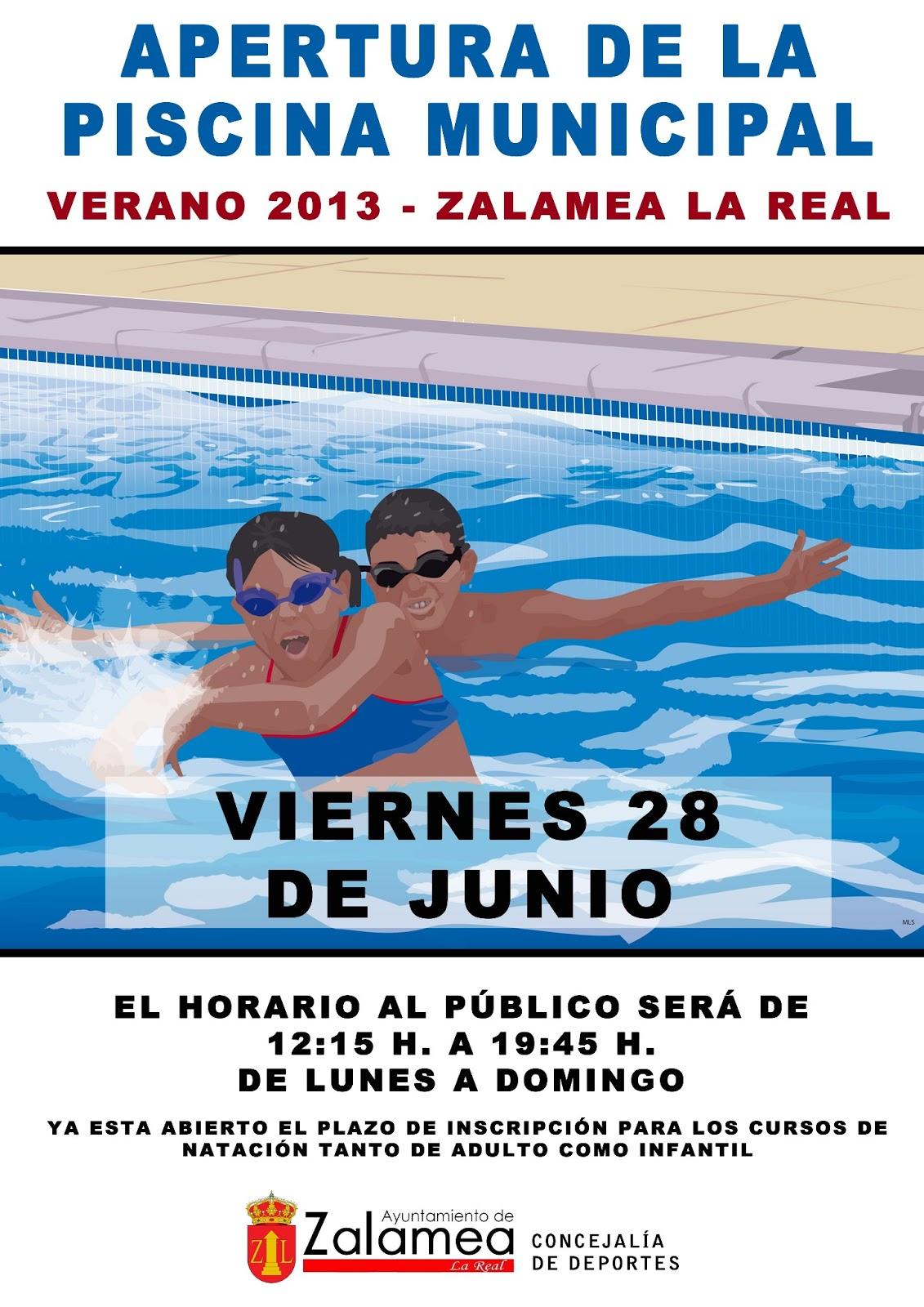 Zalamea la otra mirada viernes 28 apertura oficial de for Piscina municipal ciudad real