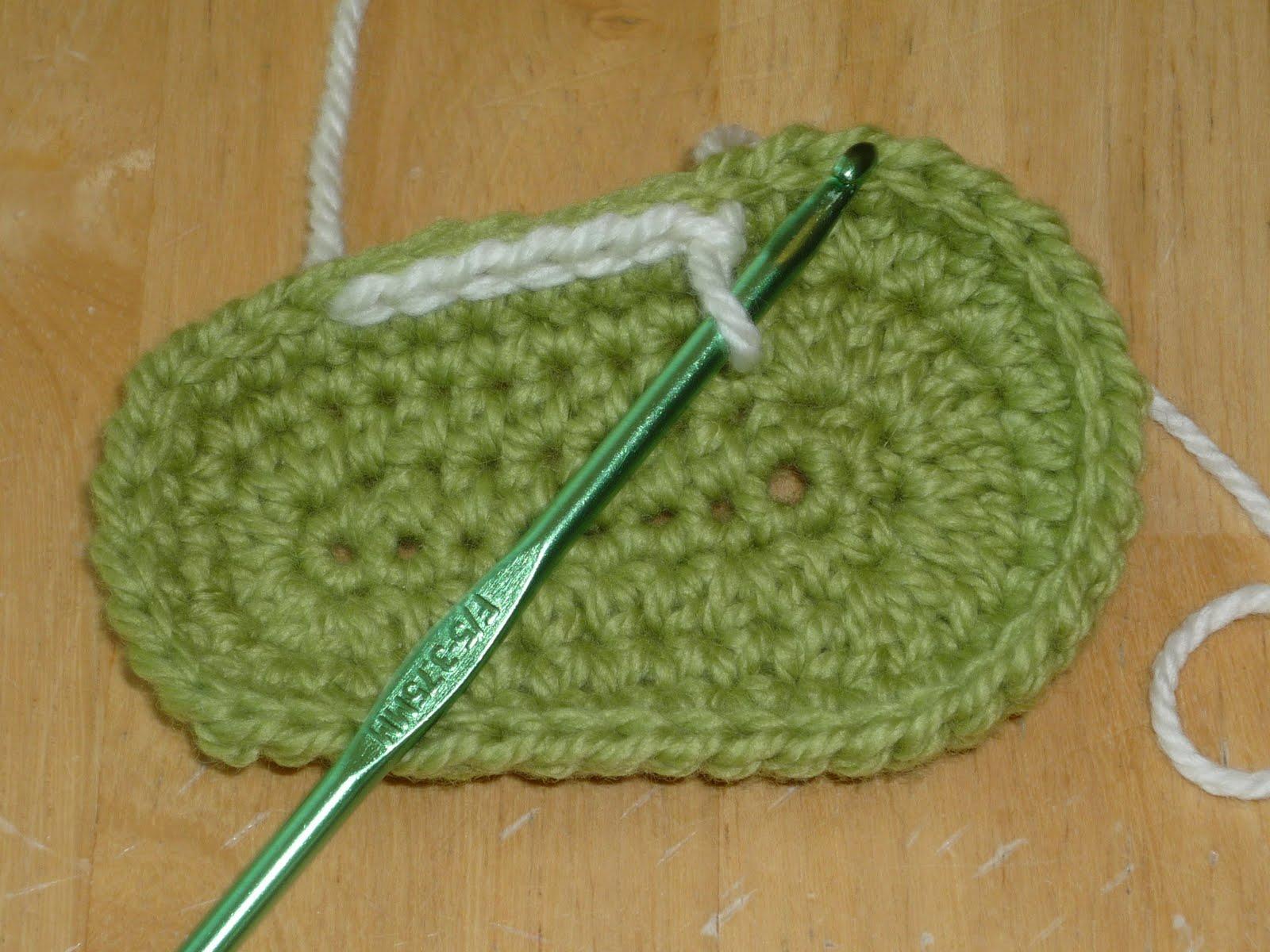 Crochet Baby Shoe Sole Pattern