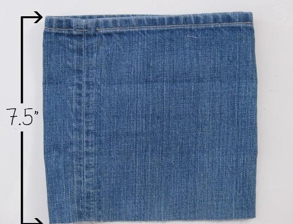 Manualidades:como reciclar jeans viejos
